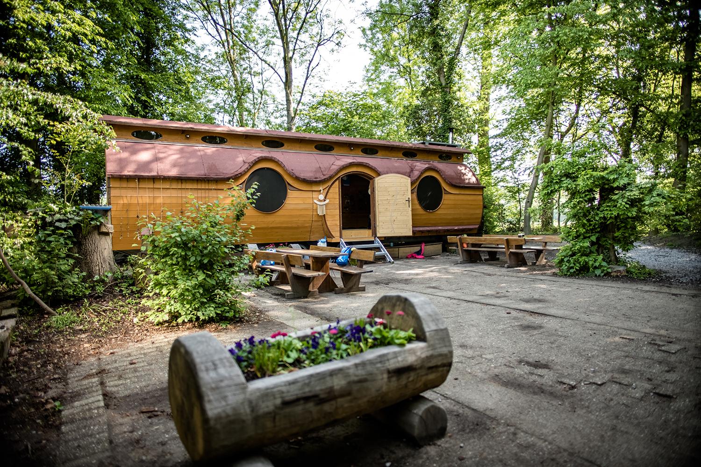 Bauwagen der Waldkobolde