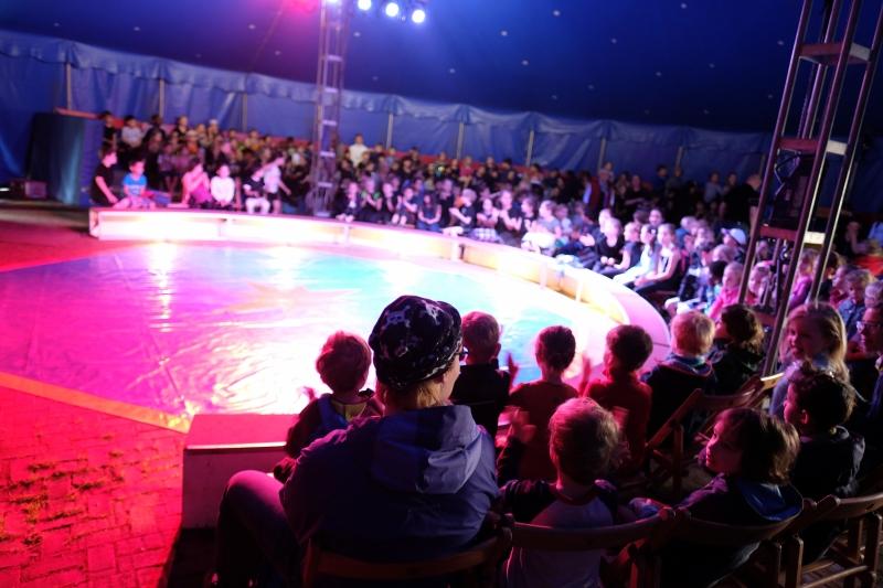 Besuch im Zirkus - Generalprobe